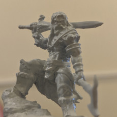 Picture of print of The Male Barbarian - By Dan Kelly (Elegoo Mars EXCLUSIVE Edition)
