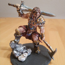 Picture of print of The Male Barbarian - By Dan Kelly (Elegoo Mars EXCLUSIVE Edition) This print has been uploaded by Rudolf Arendt