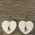 Monkey earrings image
