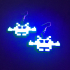 Salty Space Invader Earrings image