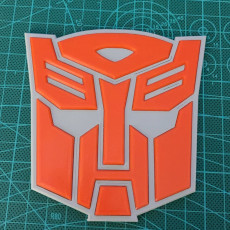 Picture of print of Transformers Autobot Logo Coaster