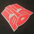 Transformers Autobot Logo Coaster image