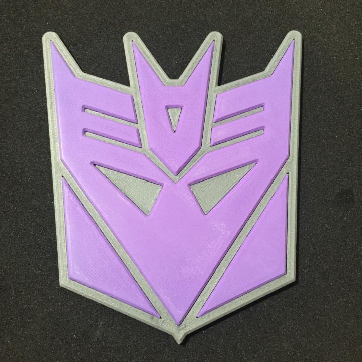 Transformers Decepticon Coaster