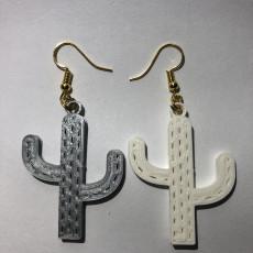 Cactus earring