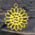 Sunflower earring image