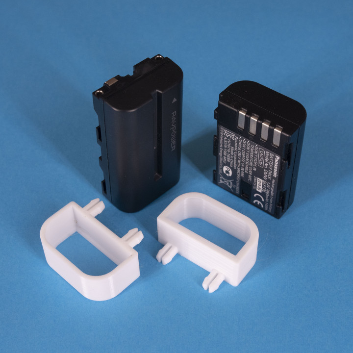Peg Anything // Battery Holder for GH5, Sony, DMW-BLF19E, NP-F550, RP-BC009, NP-F330 F550 F570