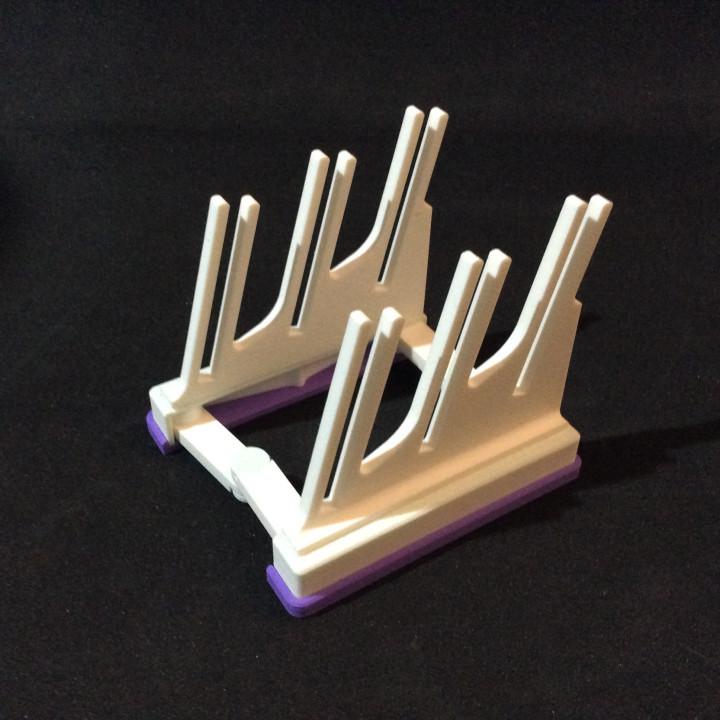 Folding Card Display Stand