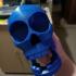 Chompy Skull!  Print-in-place noisy hinged-jaw skull! print image