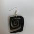 Spiral earrings (set) image