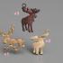 Moose earring (set) image