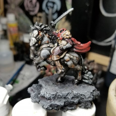 Picture of print of Headless horseman - Table Top Miniature - Patreon - 32mm