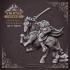 Headless horseman - Table Top Miniature - Patreon - 32mm image