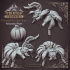 Pumpkin Spiders - Ambush Hord - 32mm Scale - DnD image