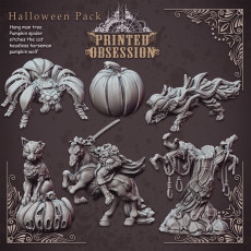 Halloween Pack - Patreon release- DnD Minatures