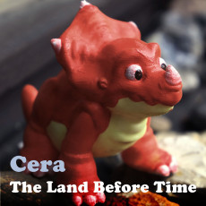 Cera from  The Land Before Time