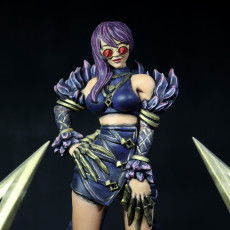 Picture of print of Evelynn KDA - League of Legends - 30 cm