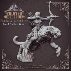 Panther Scout - 32mm scale model - DnD