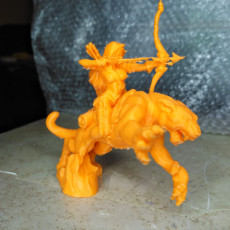 Picture of print of Panther Scout - 32mm scale model - DnD