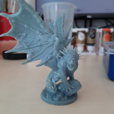 Picture of print of Deluxe Manticore