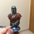 The Mandalorian from Star Wars print image