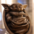 Baby Yoda from Star Wars (support free figure) image