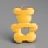 Teddybear earrings image