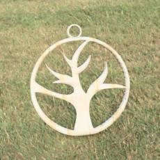 (Dead) tree earring