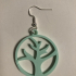 (Dead) tree earring image
