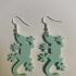 Gecko earrings image