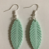 Feather earring image