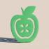 Apple bookmark image