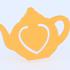 Teapot bookmark image