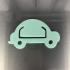 Car bookmarker image