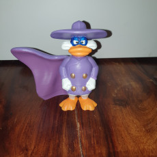 Picture of print of Darkwing Duck