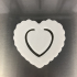 Heart bookmarker image