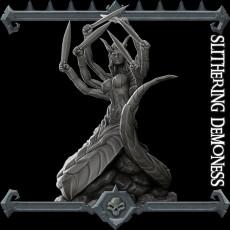 Slithering Demoness