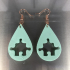 Puzzle earring image