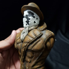 """Picture of print of Rorschach from """"Watchmen"""" (support free)"""