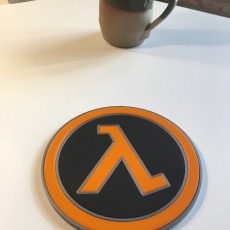 Picture of print of Half-Life Logo Coaster