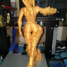 Picture of print of Samus Aran - Metroid - 25cm model