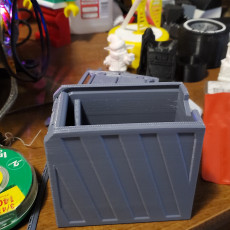 Picture of print of Slideback Box - print-in-place, support-free roll-top box!
