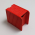Slideback Box - print-in-place, support-free roll-top box! image