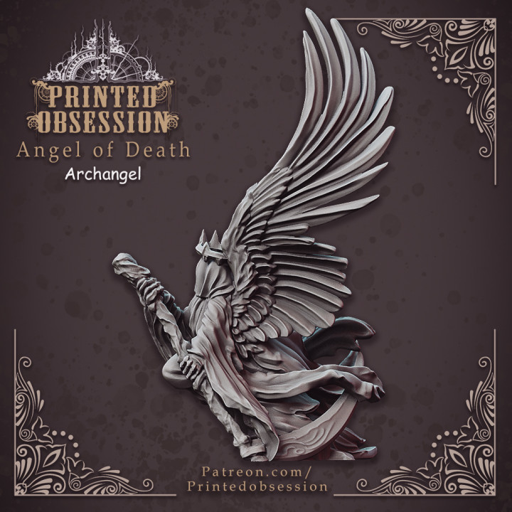 Angel of Death - Heaven Hath No Fury - 28 mm [Pre-supported]