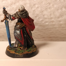 Picture of print of Joan High Paladin - Heaven Hath no Fury - DnD - 32mm [Pre-supported]