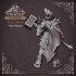 Elizabeth - High Paladin - Heaven Hath No Fury - 32mm Scale - DnD [Pre-supported] image