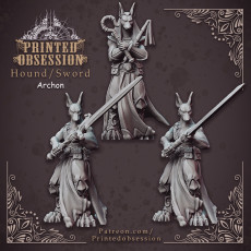 Hound Archon - Heaven Hath no Fury - 32mm scale - dnd [Pre-supported]