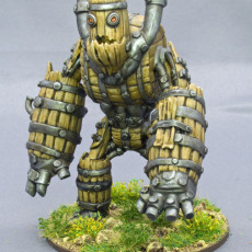 Picture of print of Keg Golem