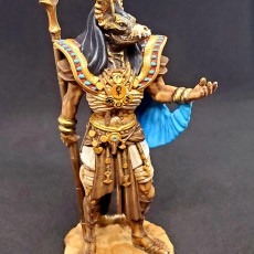 Picture of print of Anubis