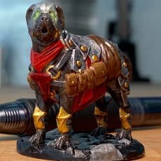 Picture of print of Armored War Dog
