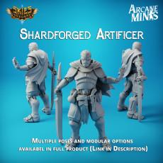 KICKSTARTER - Presupported Shardforged Artificer